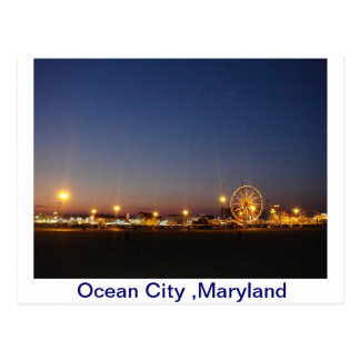 Ocean City,Maryland,USA Postcard