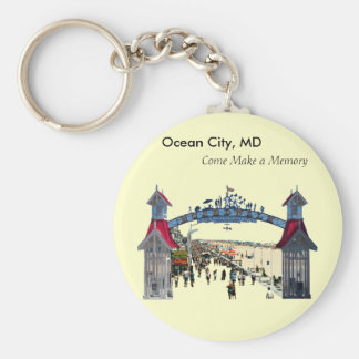 Ocean City Memories: Keychain