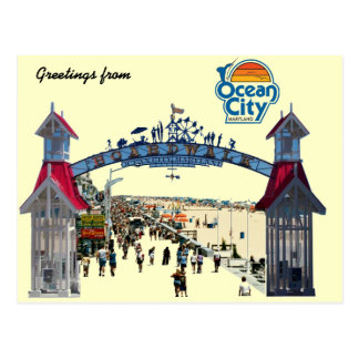 Ocean City Memories: Postcard