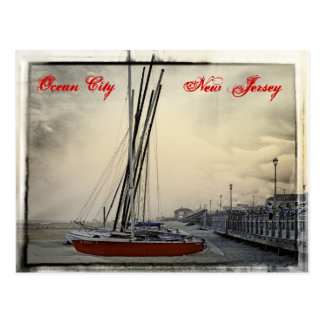 Ocean City New Jersey - Sail Away Postcard
