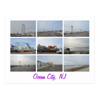 Ocean City NJ Postcard