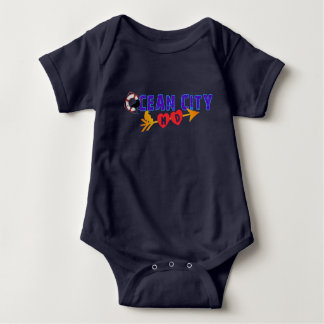 Ocean City Summer Baby Bodysuit