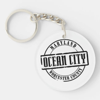Ocean City Title Keychain