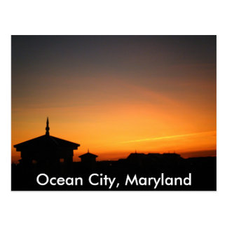 Ocean City View Postcard