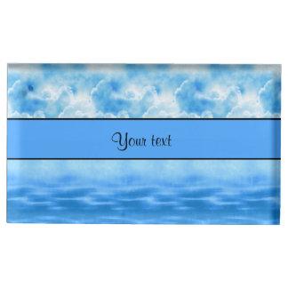 Ocean & Clouds Table Card Holder