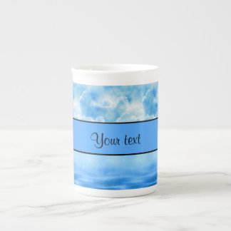 Ocean & Clouds Tea Cup