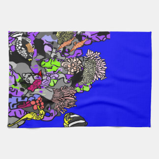 Ocean Coral Reef Kitchen Towel