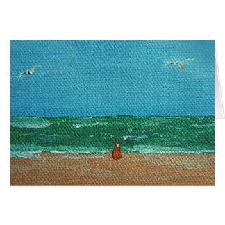 Ocean Corgi Card