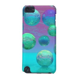 Ocean Dreams, Abstract Aqua Violet Ocean Fantasy iPod Touch (5th Generation) Cover