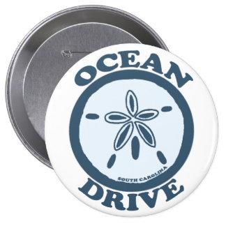 Ocean Drive Pinback Buttons