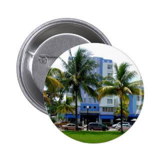 Ocean Drive Miami 2 Inch Round Button