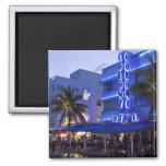 Ocean Drive, South Beach, Miami Beach, 2 Fridge Magnet