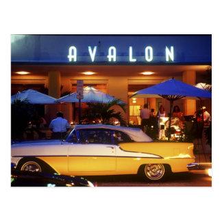 Ocean Drive, South Beach, Miami Beach, Postcard