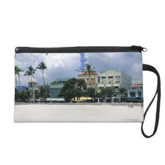 Ocean Drive, South Miam Beach, Miami - Florida Wristlet Clutches