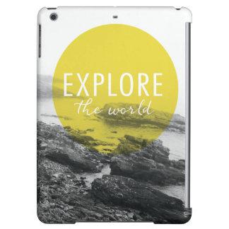 Ocean | Explore The World Quote iPad Air Cases