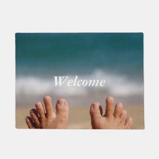 Ocean Feet Outdoor Doormat