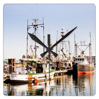 Ocean Fishing Boat Wall decor clock
