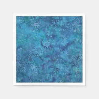 Ocean Floor Batik Paper Napkins