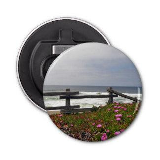 Ocean Flowers Magnetic Bottle Opener