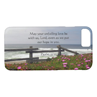 Ocean Flowers Unfailing Love Phone Case