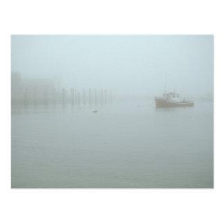 Ocean Fog Little Compton Rhode Island Postcard