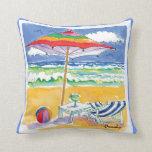Ocean Front Property pillow