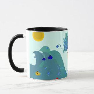 Ocean girl mug