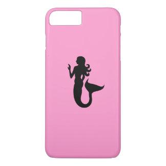 Ocean Glow_Black-on-Pink_Alluring Mermaid iPhone 7 Plus Case