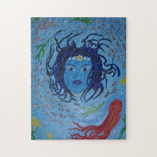 Ocean Goddess Jigsaw Puzzle