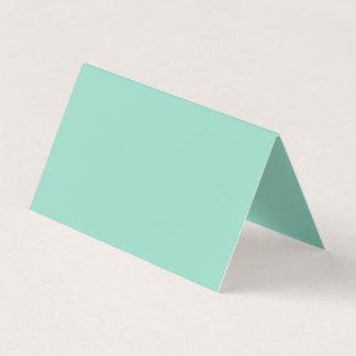 Ocean Green Colour Business Card
