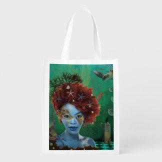 Ocean Grocery Bag