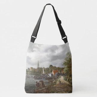 Ocean Harbor Boats Pier Sea Tote Bag