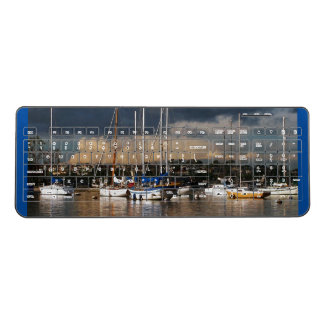 Ocean Harbor Sailboats Sailing Wireless Keyboard