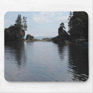 ocean harbour view mouse pad