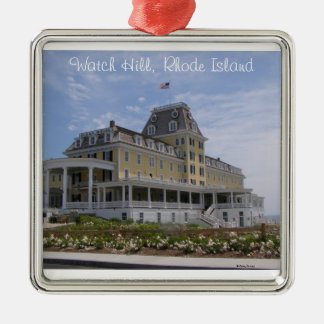 Ocean House, Watch Hill, RI Metal Ornament