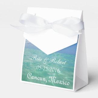Ocean III Destination Wedding Favor Box