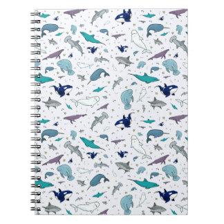Ocean in Blue Notebooks