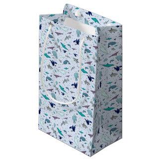 Ocean in Blue Small Gift Bag