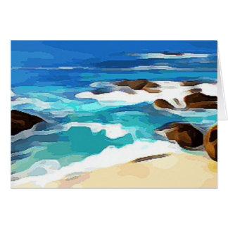 Ocean in Carmel Card