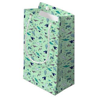 Ocean in Green Small Gift Bag