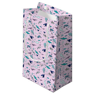 Ocean in Pink Small Gift Bag