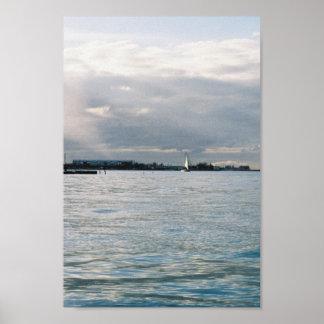 ocean in the bahamas poster