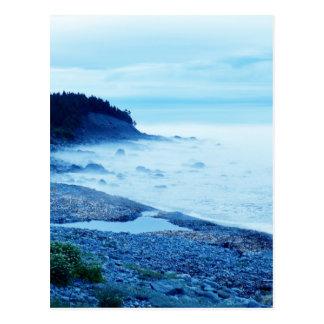 Ocean In The Mist Postcard