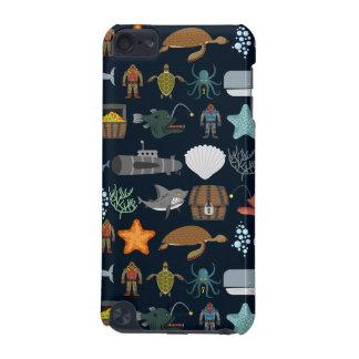 Ocean Inhabitants Pattern 1 iPod Touch (5th Generation) Case