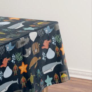 Ocean Inhabitants Pattern 1 Tablecloth