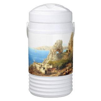 Ocean Island Capri Italy Coast House Igloo Cooler