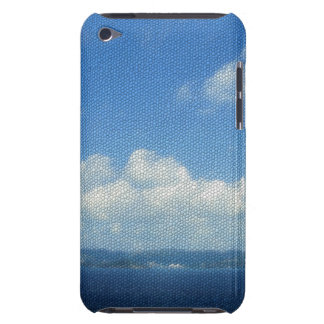 Ocean Island Paradise Sky Mosaic Tile Look Barely There iPod Cases