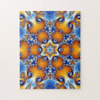 Ocean Life Mandala Jigsaw Puzzle