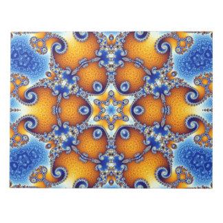 Ocean Life Mandala Notepad