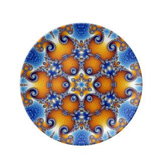 Ocean Life Mandala Plate